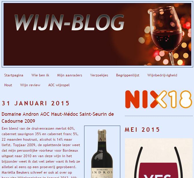 Wijn review